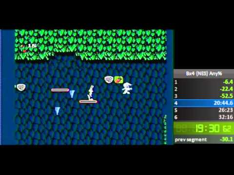 The Bugs Bunny Birthday Blowout (NES) (Any%) Speedrun in 31:02