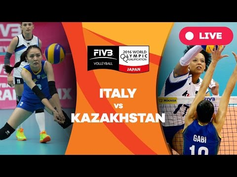 Italy v Kazakhstan - 2016 Women's World Olympic Qualification Tournament