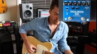 Truetone (Visual Sound) V3 H20 Liquid Chorus and Echo Demo by Shawn Tubbs