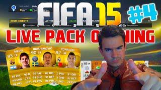 FIFA 15 Ultimate Team : Pack Opening #4 [FACECAM] - El Pistolero will Ronaldo IF !! HD