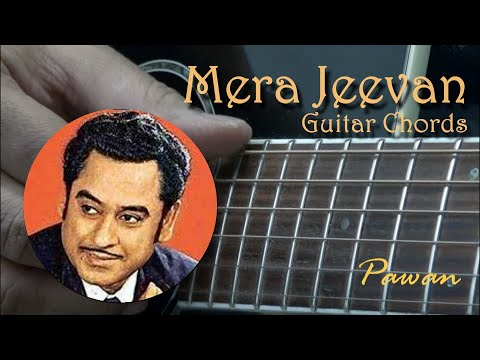 Mera Jeevan Kora Kagaz - Guitar Chords Lesson