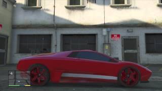 GTA5: Car Collection (Bugatti, Lamborghini, Bentley, Audi R8, Ferrari) (GTA 5 Rare Cars)