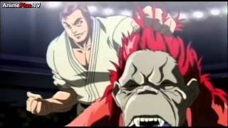 katsumi orochi vs red ape HD anime fight