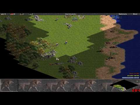 Age of Empires 1 Gameplay - 1997 (HD)