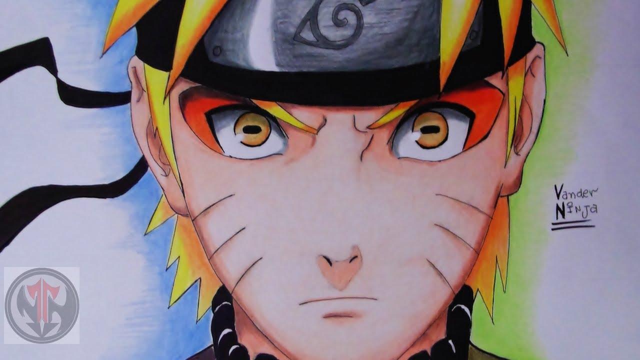 Naruto Sage Mode Drawings Drawing Naruto Sage Mode by