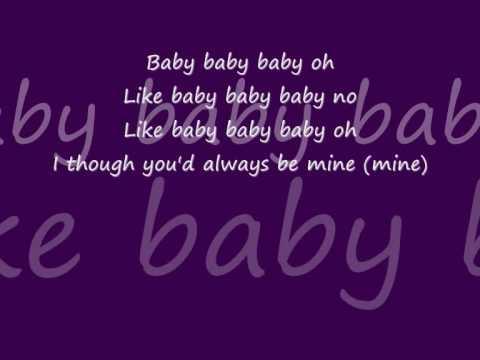Baby Justin Bieber Lyrics - YouTube