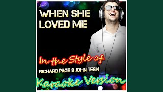 Watch John Tesh When She Loved Me video