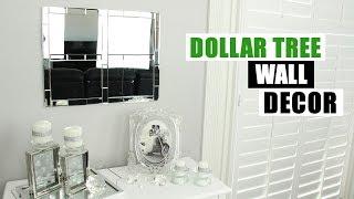 DIY DOLLAR TREE MIRROR WALL DECOR Glam Mirror Home Decor