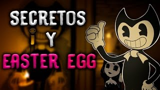 5 Secretos y Easter egg - Bendy and the Ink Machine capitulo 2