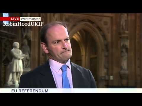 UKIP Douglas Carswell says it looks like a David Cameron stitch up