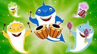 Shark Finger Family | Sing Along with Baby Shark | Kids Car Cartoon Songs & Rhymes