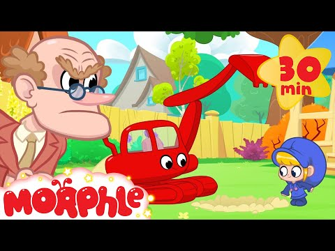 Morphle And the Angry Neighbour! Animation videos for Kids