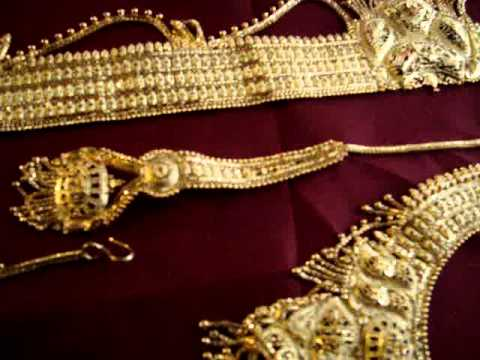 Indian bridal wedding jewelry set