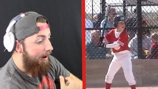 REACTING TO MY FIRST EVER BASEBALL GAME! (SO FUNNY)