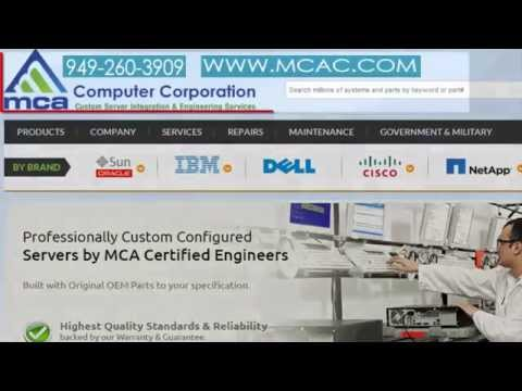 MCA Computer Corporation has Oracle, Sun, HP, DELL, IBM, Cisco Reseller, specializing in New, Used
