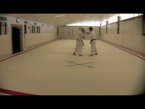 Judo - Basics of  broken posture Sasae-Tsurikomi-Ashi Image 1