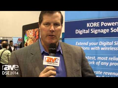DSE 2014: KORE Features Its Satellite and Cellular Connectivity Solution