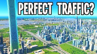 "Reviewing a City with ""Perfect"" Traffic in Cities Skylines"