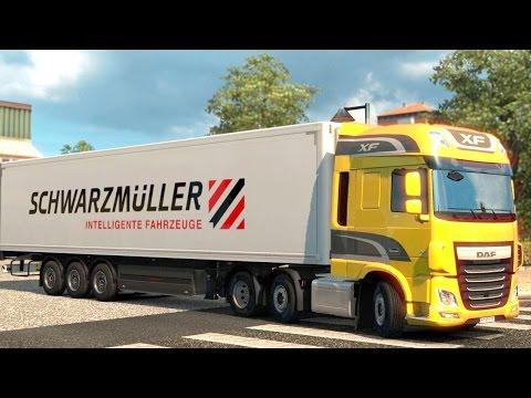 Euro Truck Simulator 2 DLC - Schwarzmüller Refrigerated Trailer Pick up