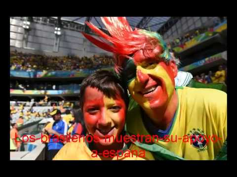 Australia VS España. Mundial Brasil 2014