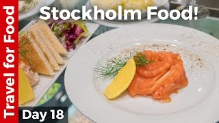 Swedish Food in Stockholm: Melt-In-Your-Mouth Dill Cured Salmon!