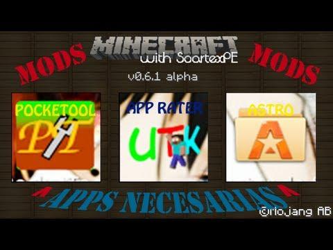 Como descargar e Instlar Mods en Minecraft Pe (Android)