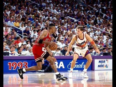 Bulls vs. Suns - 1993 NBA Finals Game 1 - YouTube