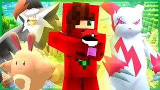 Pixelmon Adventures ? FIRST POKEMON?!? (Minecraft Pokemon Mod Roleplay) #1