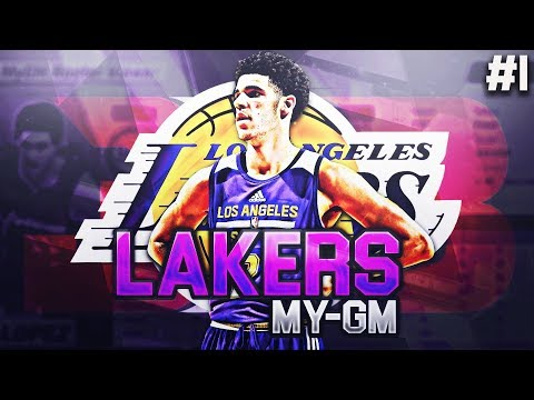 THE LONZO BALL ERA! NBA 2K18 LA LAKERS MYGM #1