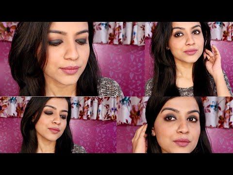 EASY SMOKEY EYE TUTORIAL FOR BEGINNERS | Smokey Eyes Step by Step | Easy Eye Makeup |Nidhi Chaudhary