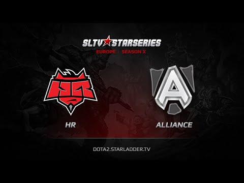 HR vs Alliance, SLTV Europe Season X, Day 25, Game 4