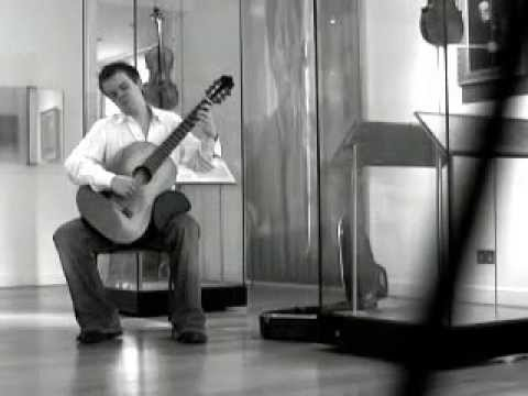 Chaconne by JS Bach (Stewart French, guitar)