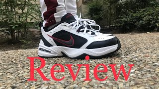 Nike Air Monarch Review and on feet