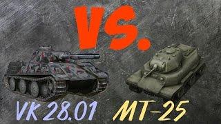 WoT Blitz Обзор вк 28.01 и сравнение с МТ-25