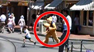 ESCALOFRIANTES Vídeos Grabados en Disneyland - Disney World