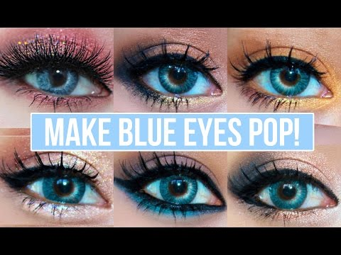Eyes how Pop! blue do for eyes makeup   Makeup YouTube Looks Make  Blue to That natural