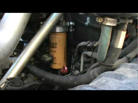 underground diesel duramax 2 micron cat filter adapter