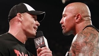 Raw: The Rock responds to John Cena and weighs in on their