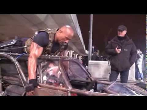 The Fast and the Furious 6: Behind the Scenes (Complete Broll) Vin Diesel, Dwayne Johnson