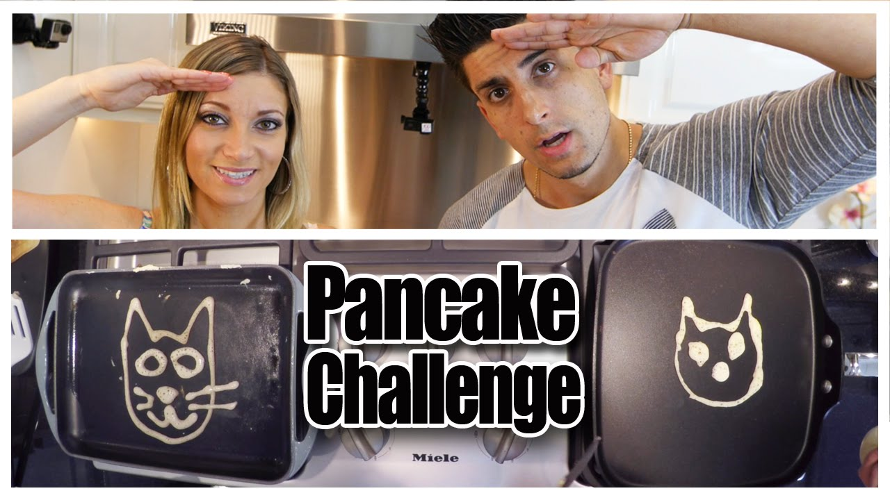 Pancake Art Challenge : PANCAKE ART CHALLENGE!! Best of YouTube