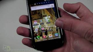Samsung Galaxy S unboxing and demo video