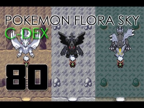 Flora Sky Map Pokémon Flora Sky C-dex