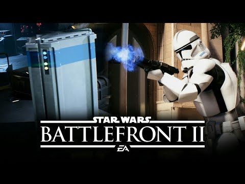 Star Wars Battlefront 2 - NEW GAMEPLAY of Crates, Crafting and Progression System!