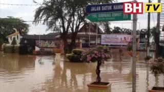 Alor Gajah dilanda banjir kilat