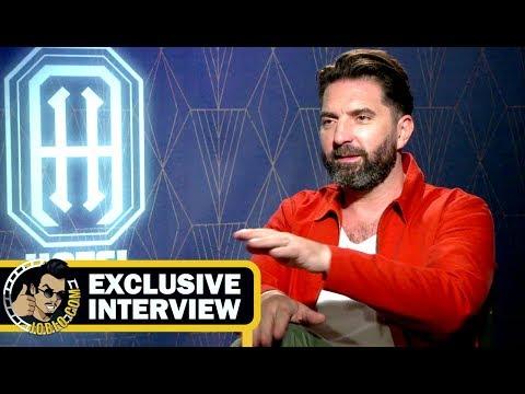 Director Drew Pearce HOTEL ARTEMIS Interview! (2018) JoBlo.com