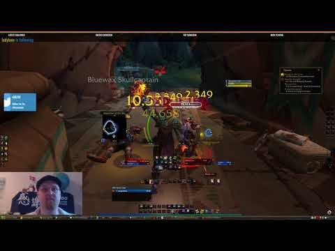 Lore of Nerds - World of warcraft leveling a shaman US (day23)