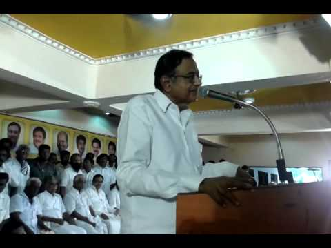 Shree P.Chidambaram speech in Sivaganga-15/11/2014