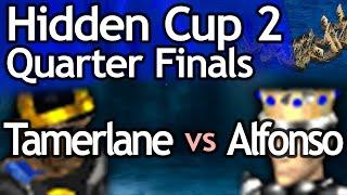 AoE2 Hidden Cup #2   King Alfonso vs Tamerlane! Quarterfinal #2