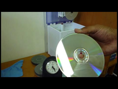 Reparación / pulido / recuperación de discos rayados, CDs, DVDs, videojuegos.
