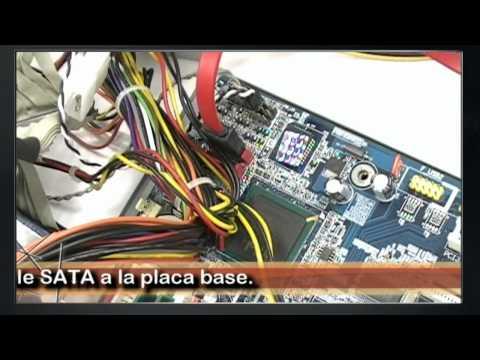 Instalar un nuevo disco duro SATA
